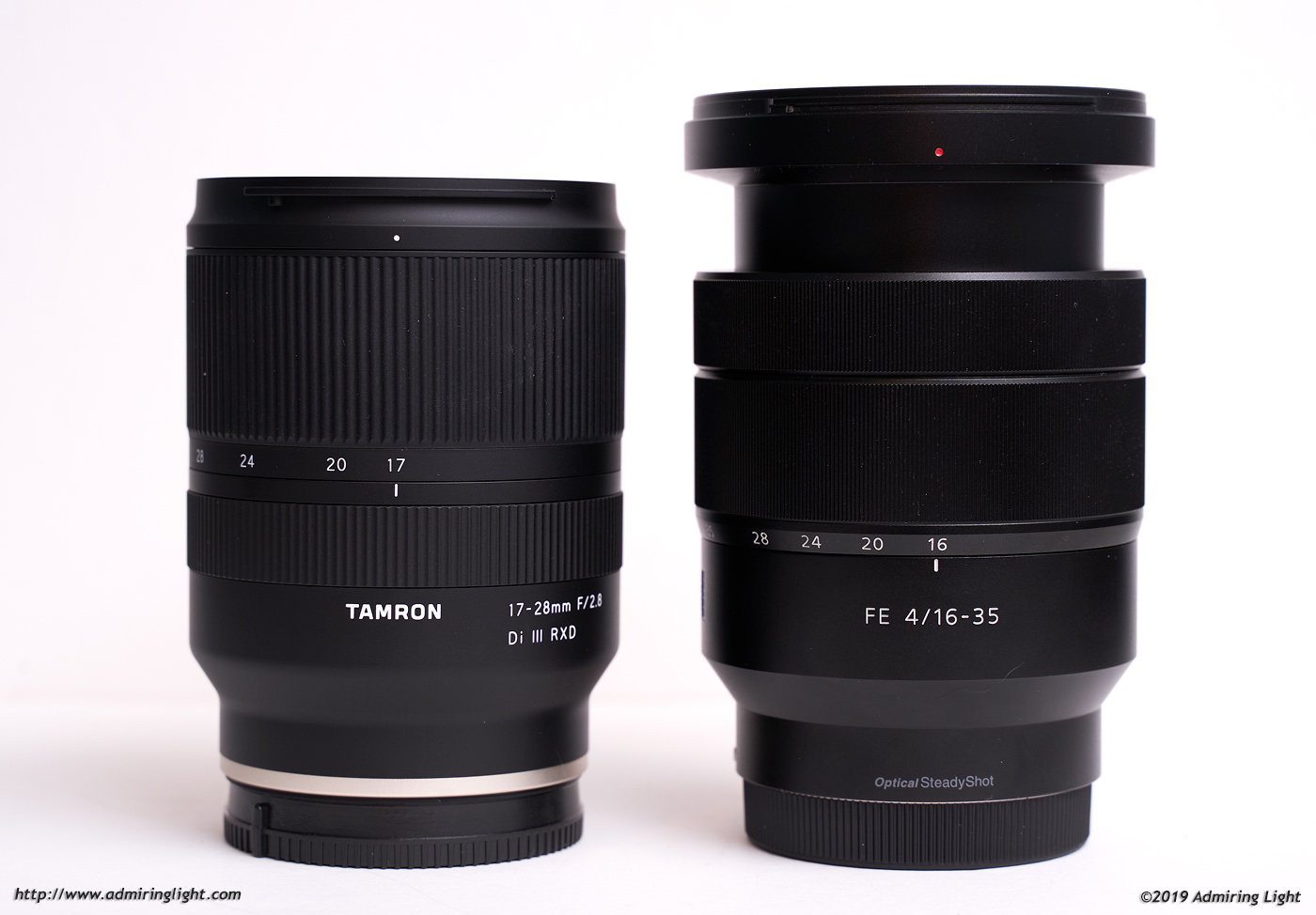 Tamron 17-28mm f/2.8 vs Sony/Zeiss 16-35mm f/4